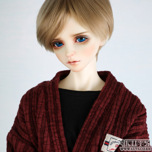娃娃衣服 SDF65 Knit cardigan Wine
