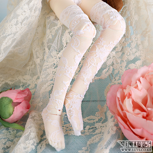娃娃衣服 KDF Lace Stocking White