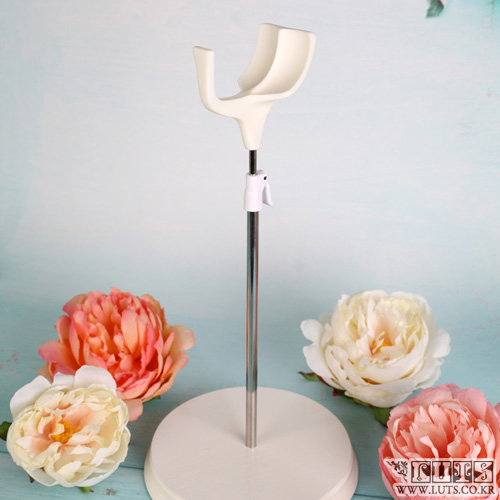 娃娃用品 SADDLE DOLL STAND 55cm到70cm White  M size