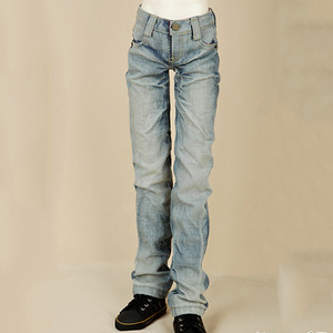 娃娃衣服 SDF BASIC WASHING JEAN For Senior Delf Boy Light Blue
