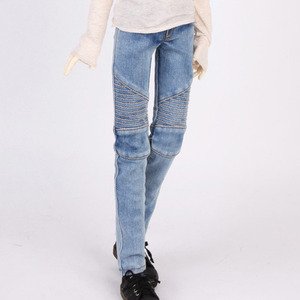娃娃衣服 SDF LIGHT BLUE JEAN