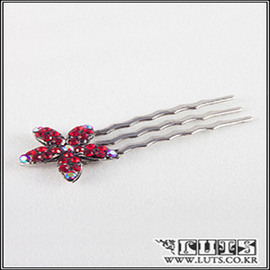 娃娃饰品 Mini LILY COMB Red