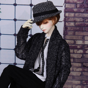 娃娃衣服 SDF65 Shawl Collar Long Cardigan