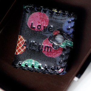 娃娃饰品 MINI PHOTO ALBUM Black