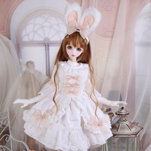 娃娃衣服 SDF White Rabbit Set