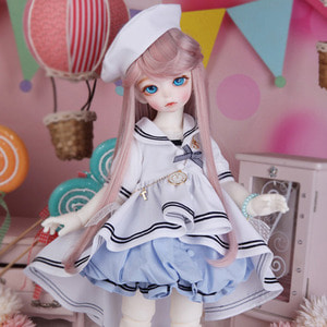 娃娃衣服 BDF Sailor Set White