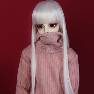 娃娃衣服 SDF65 Simple Turtleneck Pink