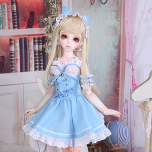 娃娃衣服 KDF Blue Cat Set