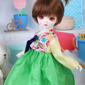 娃娃衣服 HDF Liberty Hanbok Set Green