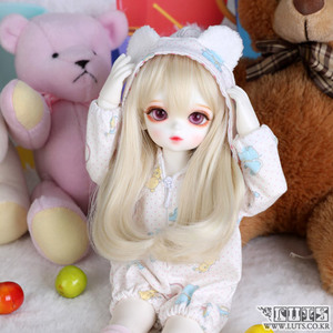 娃娃衣服 HDF Sleeping set White