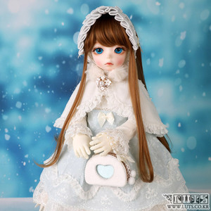娃娃衣服 BDF Snow dress set Blue