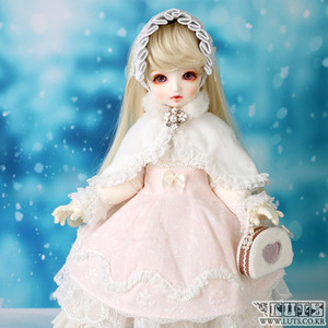 娃娃衣服 BDF Snow dress set Pink