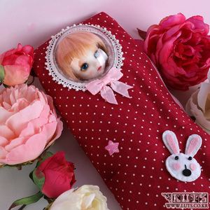 娃娃饰品 HDF Swaddling Clothes Red pink