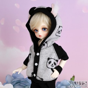 娃娃衣服 HDF Sporty set Black