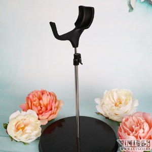 娃娃用品 SADDLE DOLL STAND 55cm到70cm Black  L size