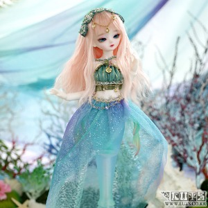 娃娃衣服 HDF31 La Mer set Mermaid ver Blue Pre order