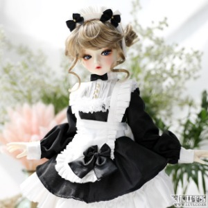 娃娃衣服 KDF Sweet Waitress Set Black