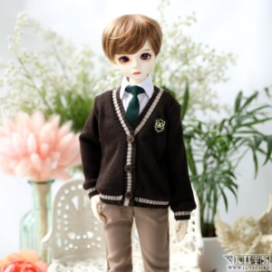 娃娃衣服 KDF NINE School Boy set Brown