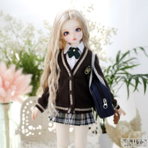 娃娃衣服 KDF NINE School Girl set Brown