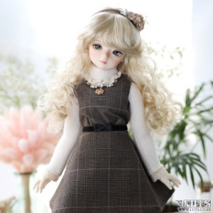 娃娃衣服 KDF Autumn Lady Set Brown