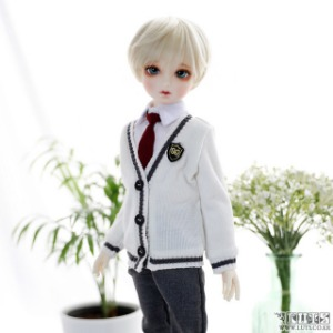 娃娃衣服 KDF NINE School Boy set Ivory