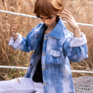 娃娃衣服 SSDF Washing Jean Jacket