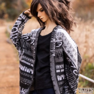 娃娃衣服 SSDF Bat wing cardigan
